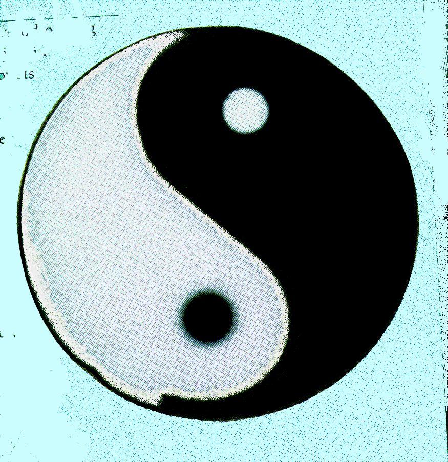 Chinese Yin Yang symbol